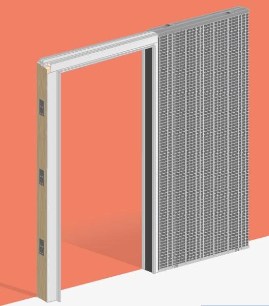 Estructuras metálicas para puertas correderas y forros de ... - photo#47