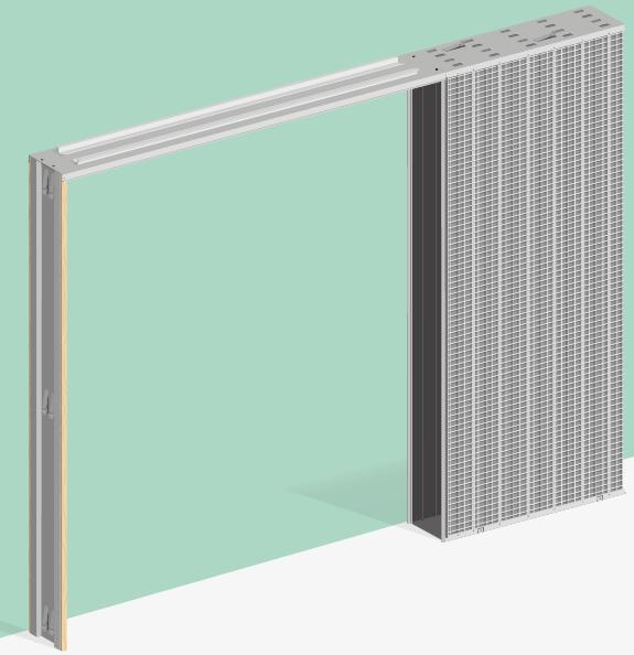 Estructuras metálicas para puertas correderas y forros de ... - photo#48