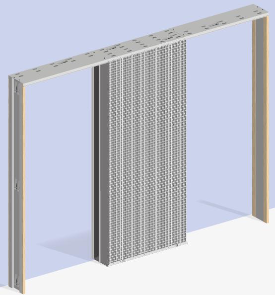 Estructuras metálicas para puertas correderas y forros de ... - photo#12