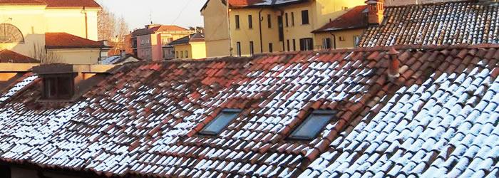 Llega el invierno: una solución para reducir el intervalo de temperatura en los tejados.