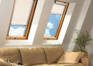 Cortinas interiores: brillo ajustado